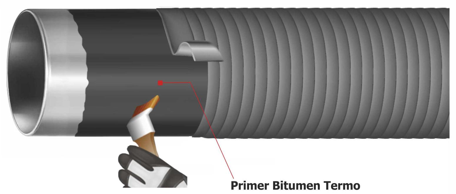 Illustration pipe Bitumen Primer DK-BIT®TERMO