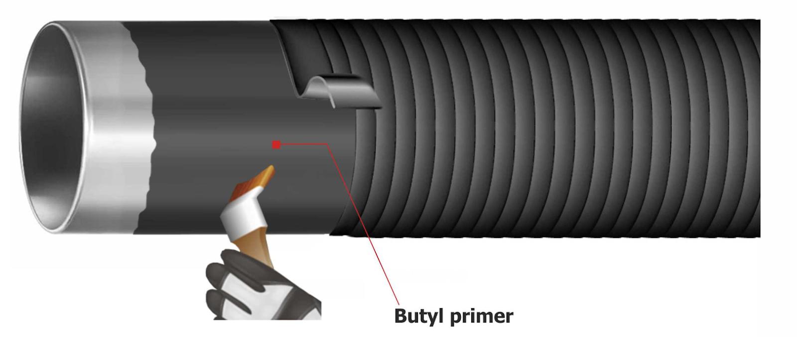 Illustration pipe Butyl Primer DK-BUT®19.27